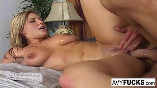 Avy Scott gets her pussy fucked hard