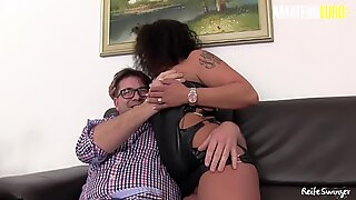 AmateurEuro - Annette Liselotte Indulge In Hot 4way Fun