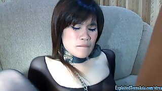 Exclusive Thai Amateur Fan Fucks In Body Stocking