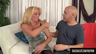 Busty Blonde GILF Crystal Taylor Gets Fucked to Perfection