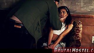 Poor little Latina teenager Gina Valentina spanked