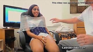 Ballern Assy Latina Freundin auf Sexband