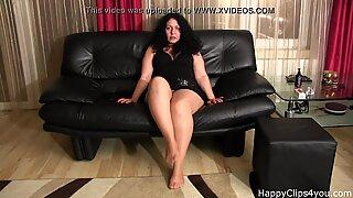 Alisa smoking foot fetish promo video