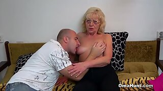 Naughty Granny Wants Some Dick Too