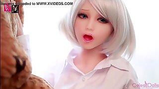 WM Doll Sexy Anime Elf Girl TPE Sex Doll Wants Cock