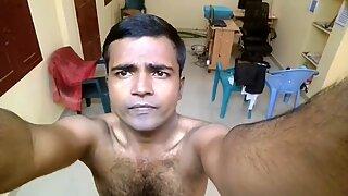 Mayanmandev - desi indisk mandlig selfie video 100
